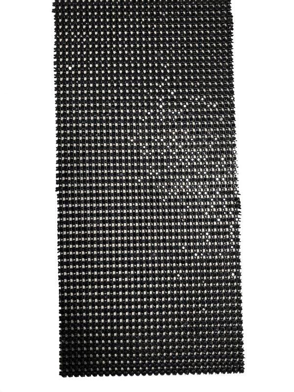 Rivinauhaa ss6 (musta)
