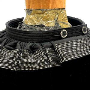 Grå + ljus sten kjol