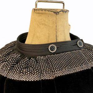 Mini Nät med Sned7 Band romerska kjol
